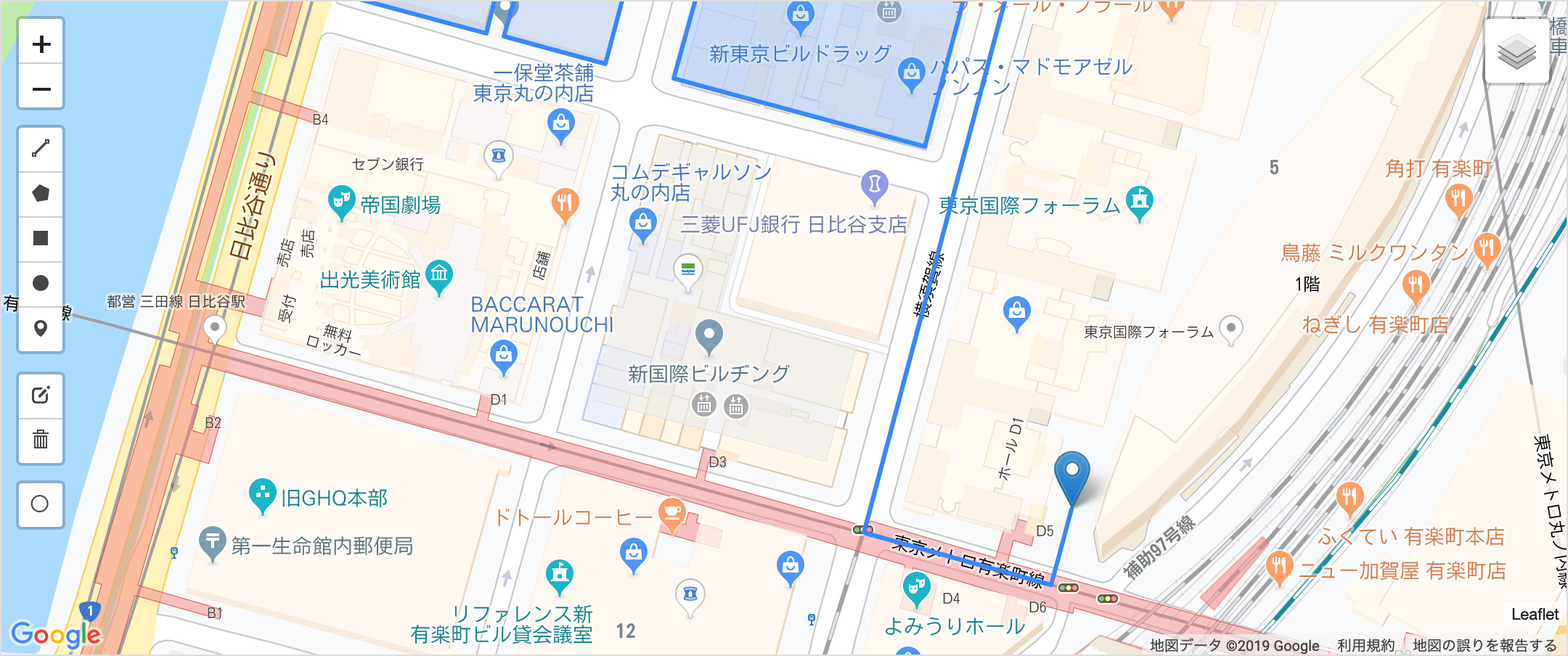 GIS(地理情報システム)のデモ